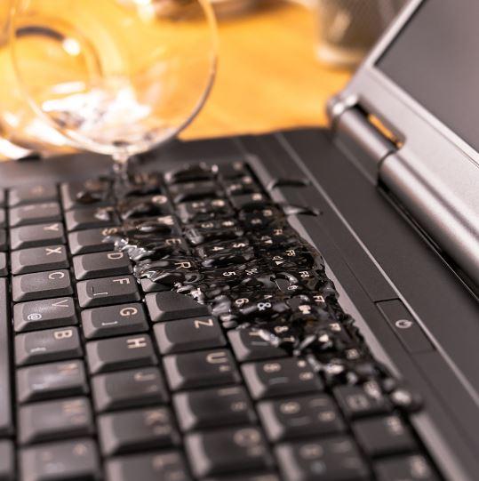 liquid damage laptop